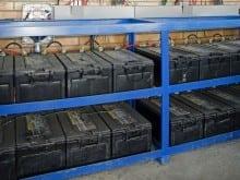 banco de baterias armazenamento solar