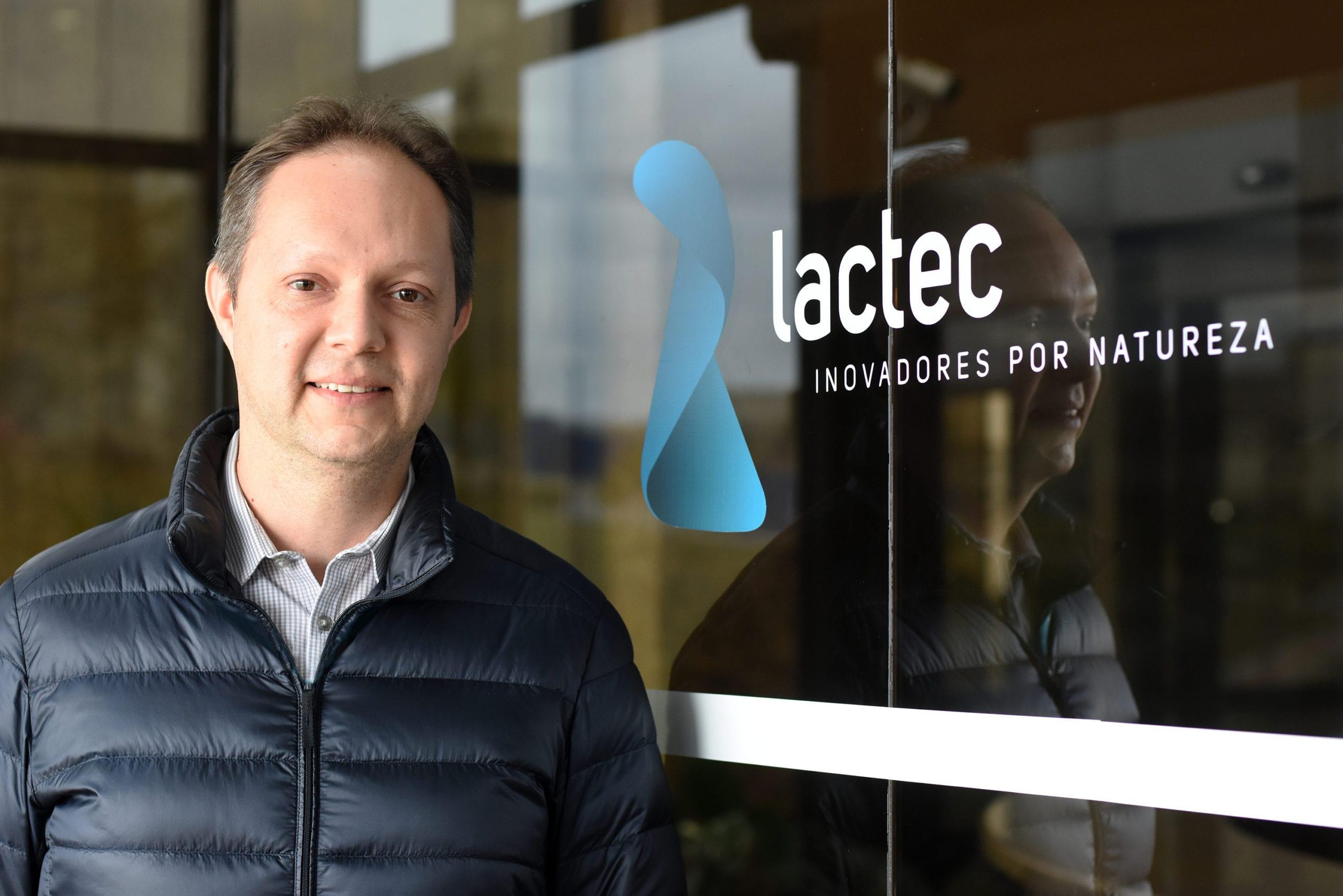 Carlos Eduardo Ribas, gerente comercial do Lactec