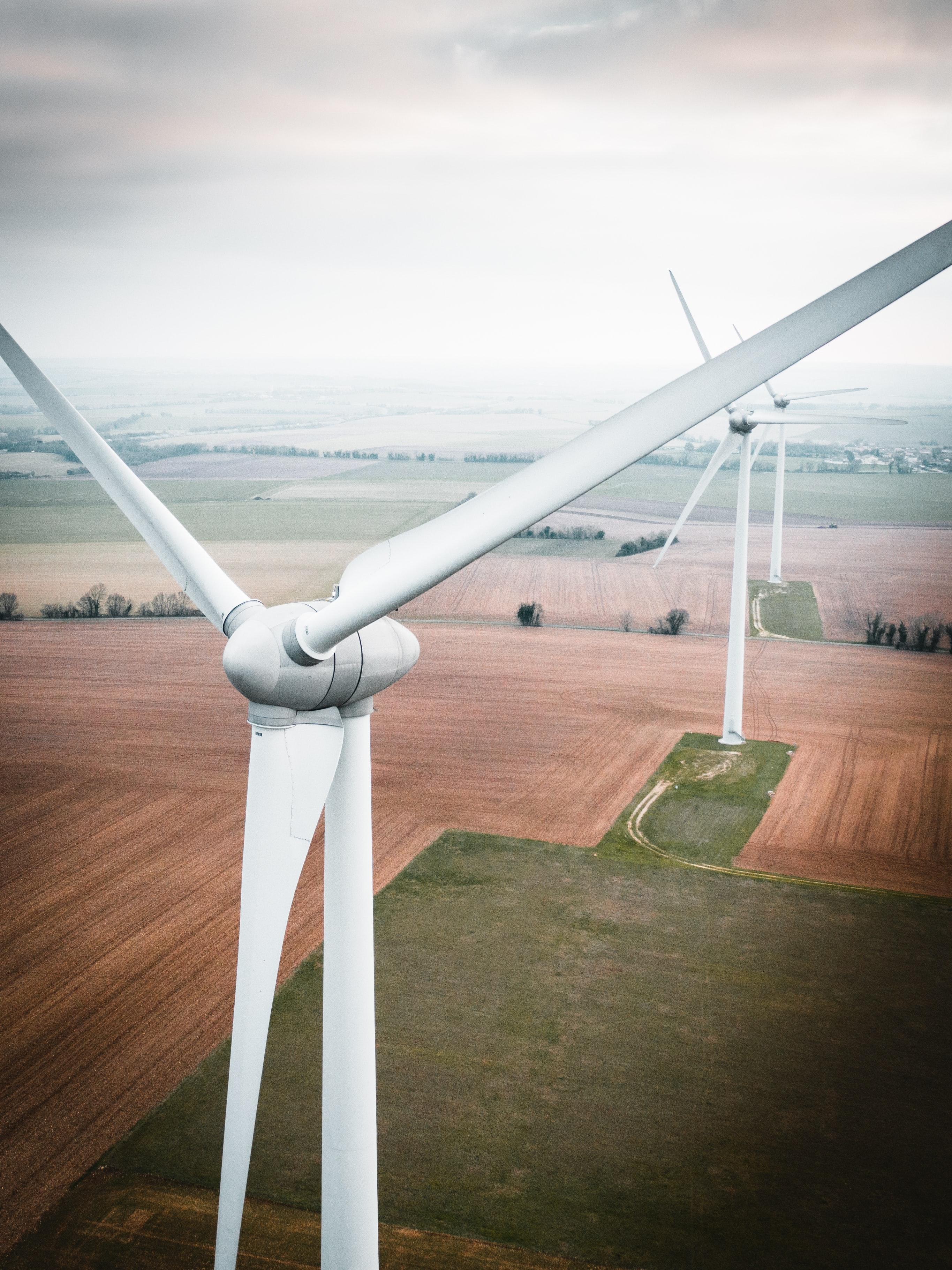 soluções para parques eólicos